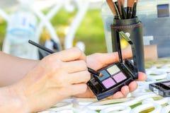 eyeshadow στοκ εικόνες με δικαίωμα ελεύθερης χρήσης