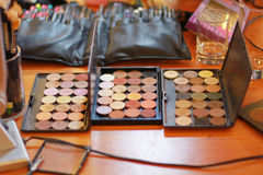 eyeshadow image stock