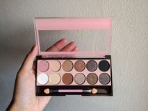 eyeshadow photographie stock libre de droits