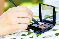 Eyeshadow Stock Photography