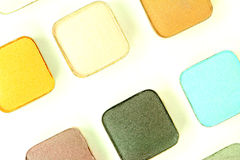 Eyeshadow Colors Royalty Free Stock Image