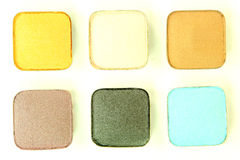 Eyeshadow Colors Royalty Free Stock Photography
