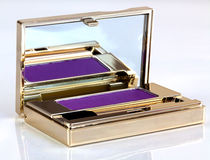 Eyeshadow in compact Stock Images