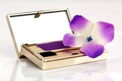 Eyeshadow in compact Stock Photography