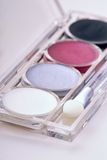 Eyeshadow kit Royalty Free Stock Images