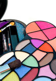 Eyeshadow kit bok Royalty Free Stock Photo