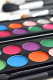 Eyeshadow makeup Royalty Free Stock Photography