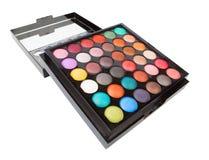 Eyeshadow makeup palette Stock Photos