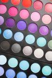 eyeshadow makeup palety profesjonalista obrazy stock