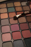 eyeshadow paleta Fotografia Royalty Free