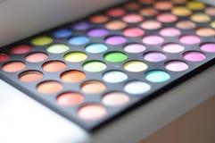 Eyeshadow paleta Zdjęcie Stock