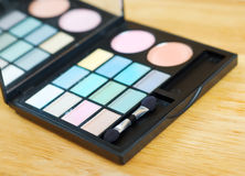 Eyeshadow palette Stock Image
