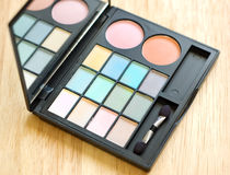 Eyeshadow palette Stock Photography