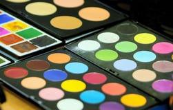 Eyeshadow palette Royalty Free Stock Photos