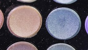 Eyeshadow Palette stock video