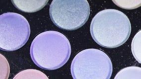 Eyeshadow Palette stock video footage
