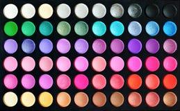 Eyeshadow palettes Royalty Free Stock Image