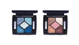 Eyeshadow palettes Stock Photo