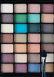 Eyeshadow palettes Stock Photography