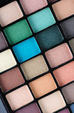 Eyeshadow palettes Stock Photo