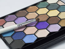 Eyeshadow pallet Royalty Free Stock Image