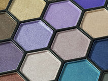 Eyeshadow pallet Royalty Free Stock Photography