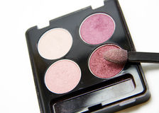 Eyeshadow pallete Stock Photos