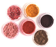 Eyeshadow Pots Stock Photos