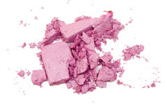 Eyeshadow powder and brush Stock Image