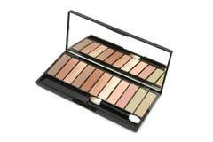 Eyeshadow Selection - Earthy Tones Stock Photo