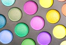 Eyeshadow set pallete Royalty Free Stock Images