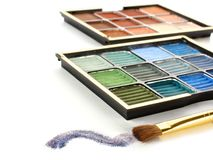 Eyeshadow Royalty Free Stock Photography