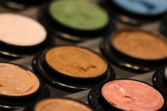 Eyeshadows Royalty Free Stock Photos