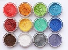 Eyeshadows Royalty Free Stock Photography