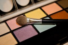 Eyeshadows Royalty Free Stock Photo