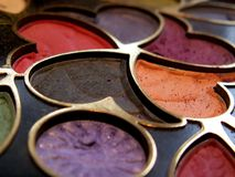 Eyeshadows Royalty Free Stock Image