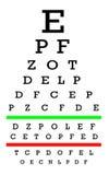 Eyesight concept - Good eyesight Royalty Free Stock Image