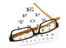 Eyesight Glasses Royalty Free Stock Images