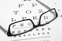 Eyesight Glasses Stock Image