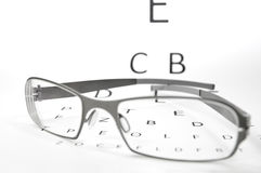 Eyesight test Royalty Free Stock Image