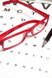 Eyesight test Royalty Free Stock Photography
