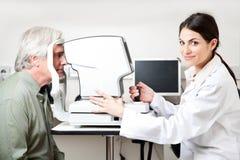 Eyesight Test Examination Stock Photography