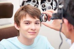 Eyesight Test Examination Royalty Free Stock Images