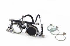 Eyesight Testing Spectacles Royalty Free Stock Image