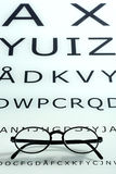 Eyesight and visual acuity concept Royalty Free Stock Image