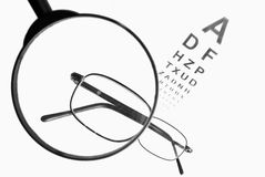 Eyetest 2 Royalty Free Stock Photography