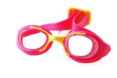 eyewear заплывание Стоковое Изображение