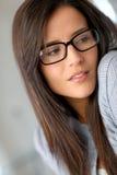 eyewear помадка девушки Стоковые Фото