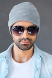 Eyewear for his style. Stock Photos