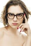 Eyewear manier Royalty-vrije Stock Foto's